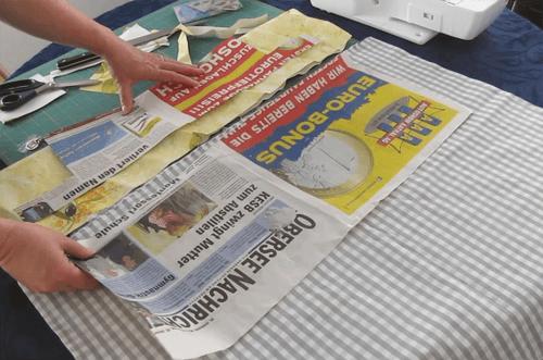 Tasche für den Markt selbst nähen - DIY | ChezNU.TV