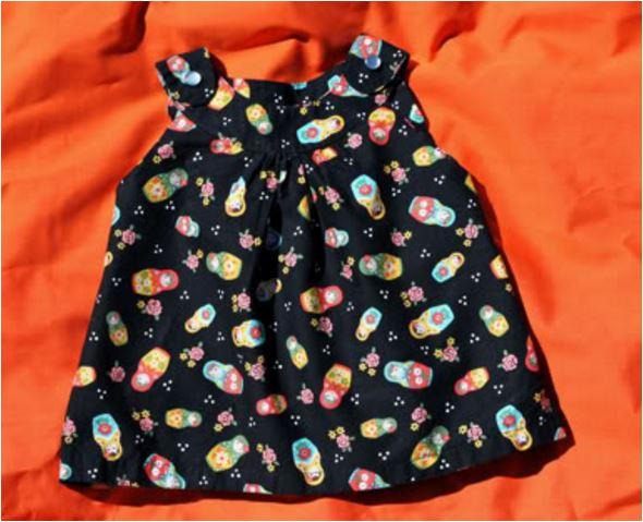 Kinderkleid 12-18M