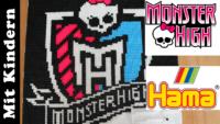 Monster High Wappen mit Hama stecken