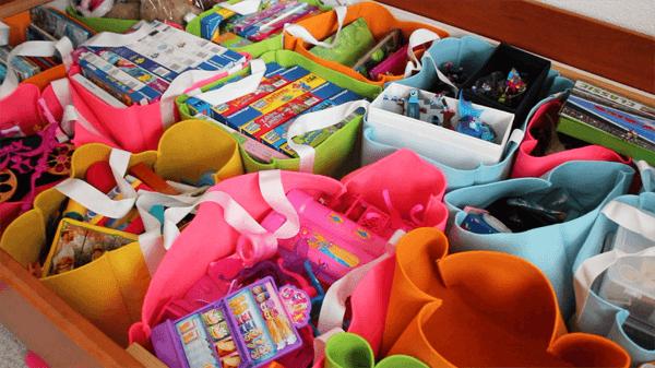 Boxen nähen für den Bettkasten | mit Schnittmuster | Kinderzimmer ...
