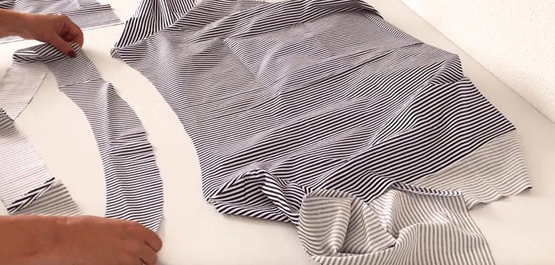 kleid und bluse boyfriend shirt n hen mit schnittmuster cheznu tv. Black Bedroom Furniture Sets. Home Design Ideas