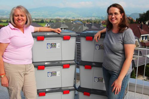 Rotho: AppMyBox 100l - Tanker - Boxen mit Ute und Nicole
