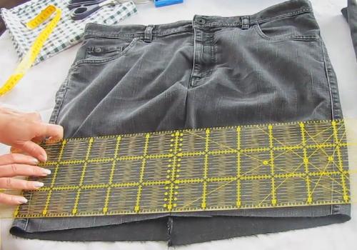 Diy Einfache Tasche Nahen Aus Einer Alten Jeans Fur Nahanfanger