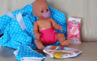 Windeln für Baby Born und andere Babypuppen