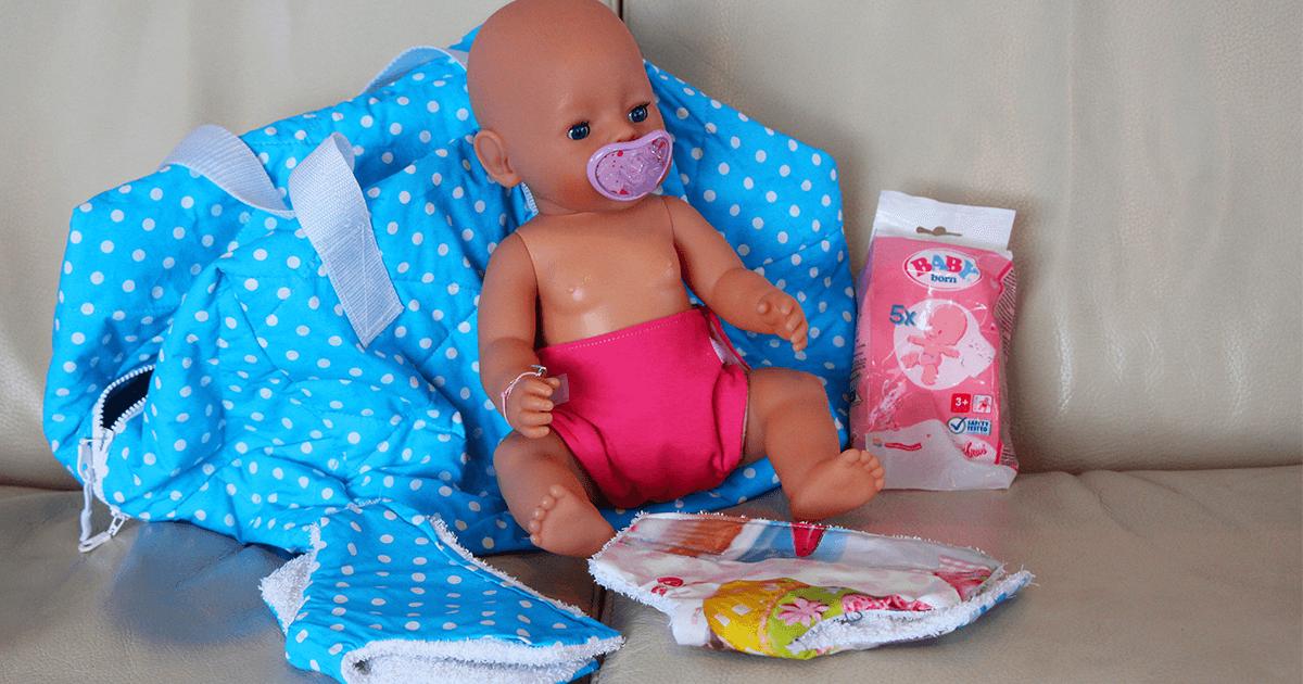 Windel für Baby Born und andere Babypuppen | ChezNU.TV