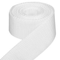 weißes Gurtband