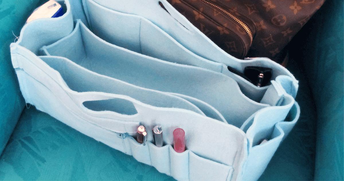 Handtaschen Organizer aus Filz
