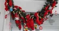 Adventskalender dekorieren und bestücken