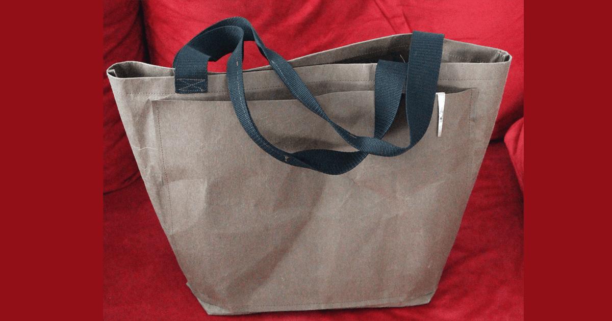 Einkaufstasche aus Snap Pap | DIY | Schnittmuster gratis | ChezNU.TV