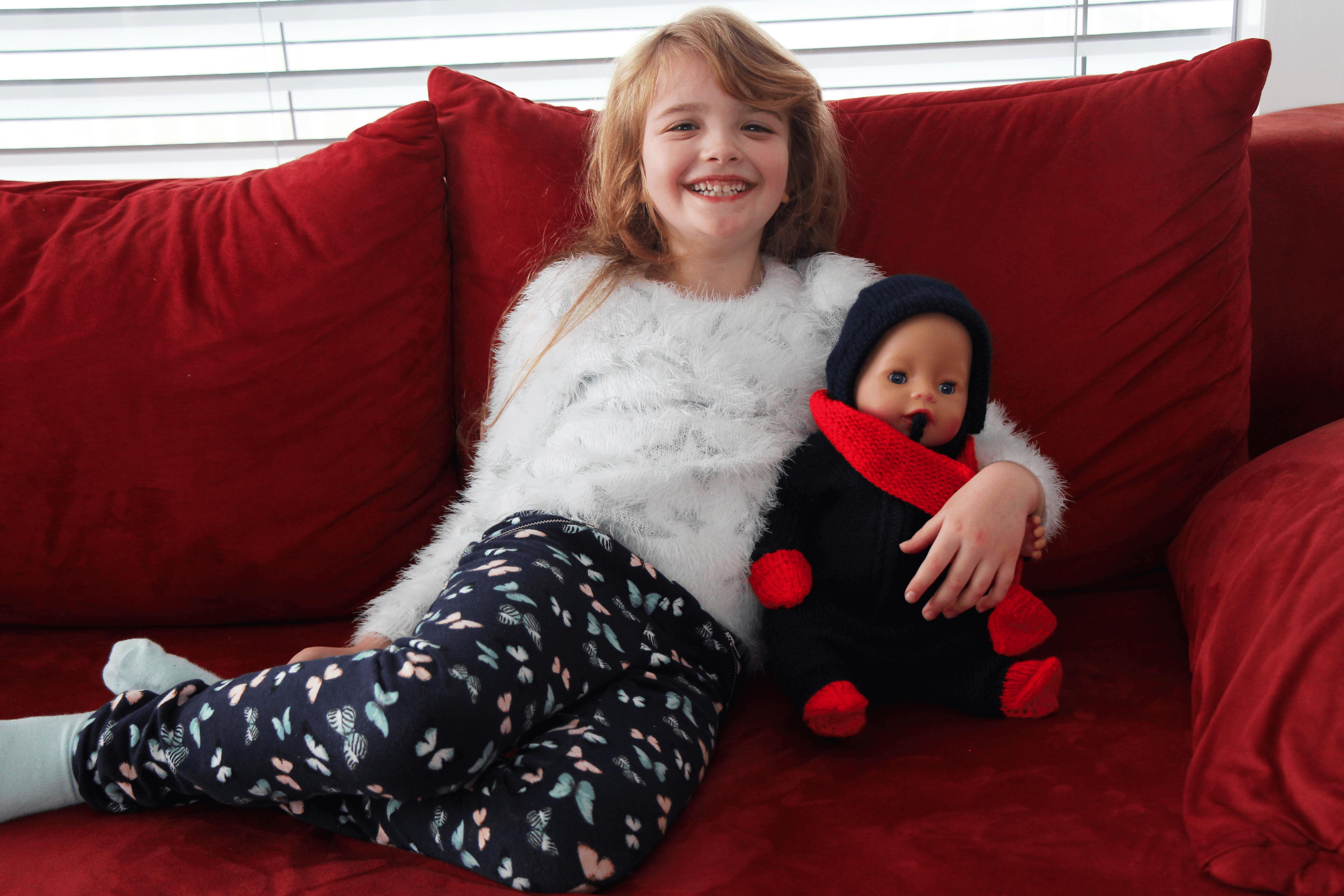 Puppen Overall Stricken Für Baby Born Kostenlose Anleitung Cheznutv