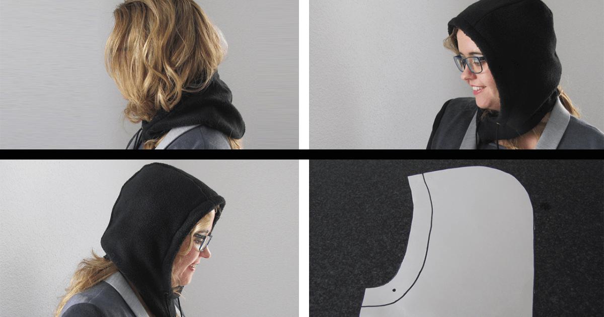 Loop Mütze nähen mit Schnittmuster und Videotutorial für Nähanfänger