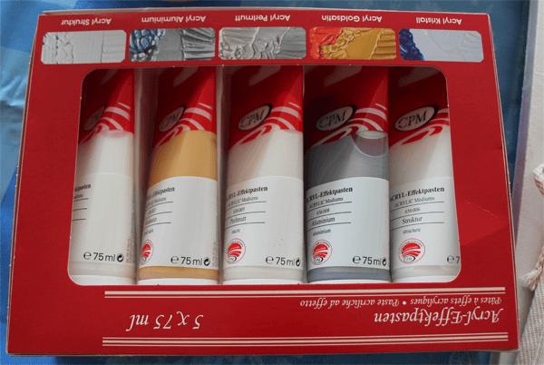 Acryl-Effektpasten