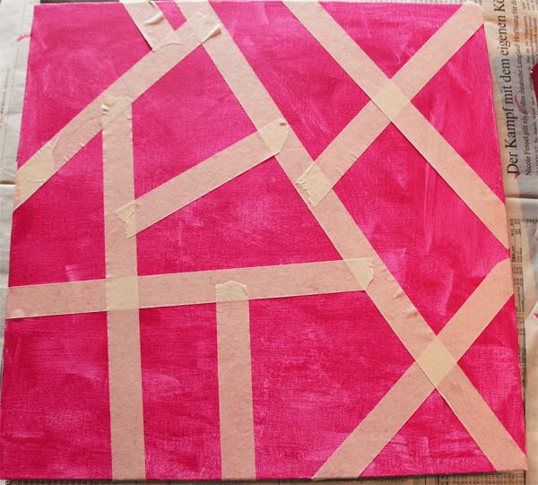 Malen Mit Kindern Eine Einfache Technik Mit Acrylfarben