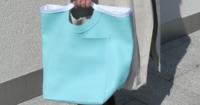Einfacher Shopper aus Skai nähen