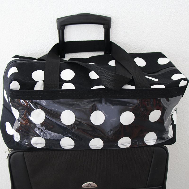 Koffertasche zum Aufsetzten Schnittmuster