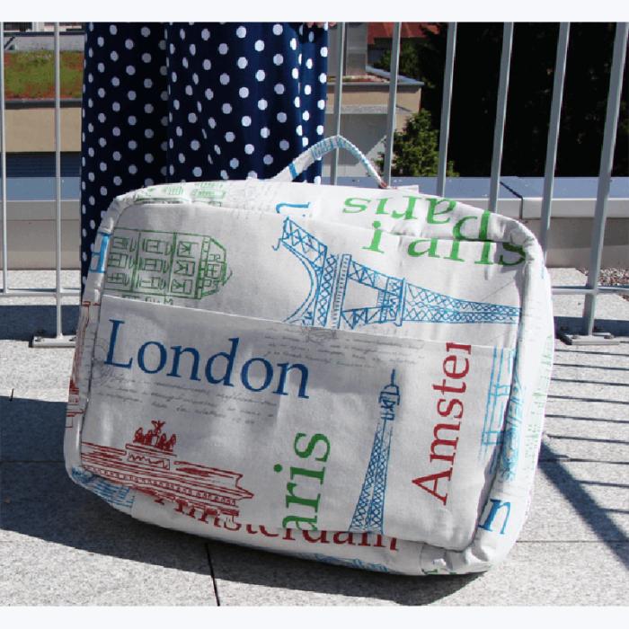 Koffer KapstadtSchnittmuster zum Ausdrucken