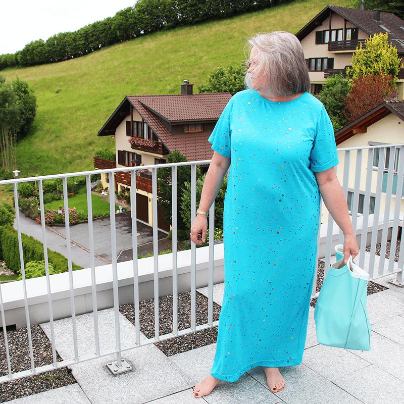 Einfaches Sommerkleid Schnittmuster