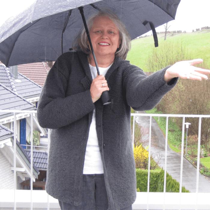 Strickjacke Rainy Afternoon gratis Strickanleitung