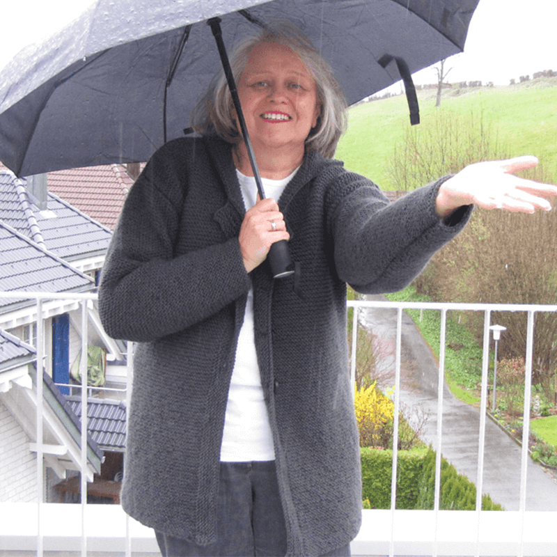 Strickjacke Rainy Afternoon gratis Strickanleitung