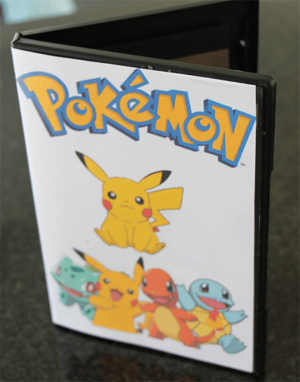 Pokemon Art Case