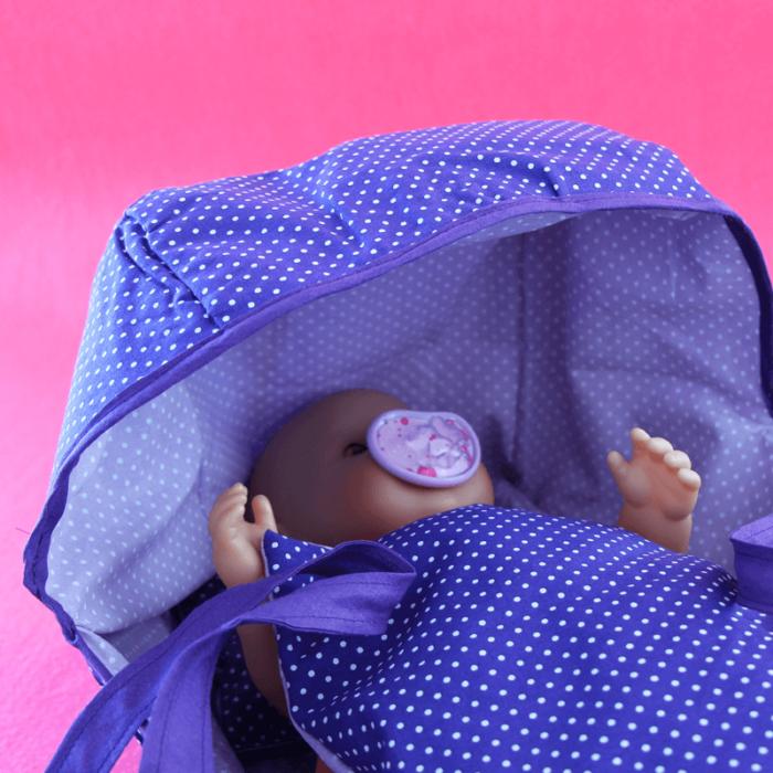 Tragetasche für Baby-Puppe nähen_1_fuer_Baby Annabell und Baby Born Schnittmuster