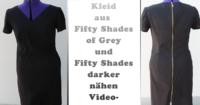 Kleid nähen, wie aus Fifty Shades of Grey und Fifty Shades Darker -Artikelbild - mit Videoanleitung