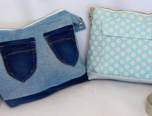 Handtasche nähen mit Schnittmuster mit vielen Innentaschen 👜 Handtasche Milano