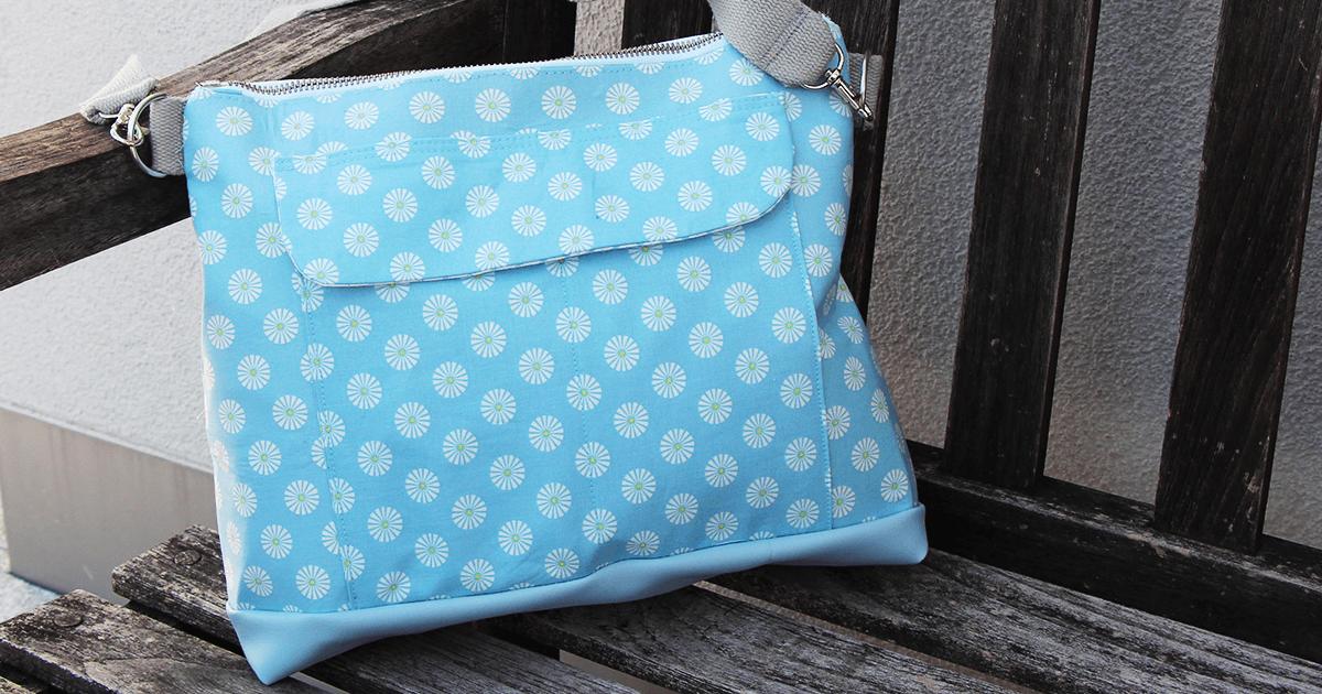DIY: Einfache Tasche nähen aus einer alten Jeans - Für Nähanfänger