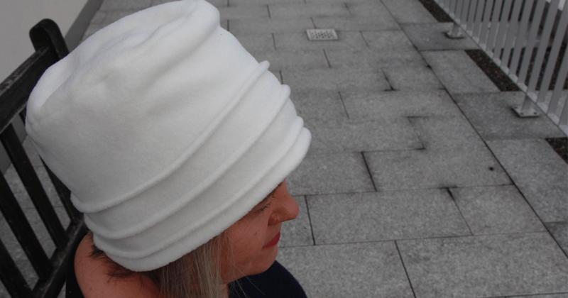 Hut nähen aus Fleece - mit Schnittmuster in 3 Grössen