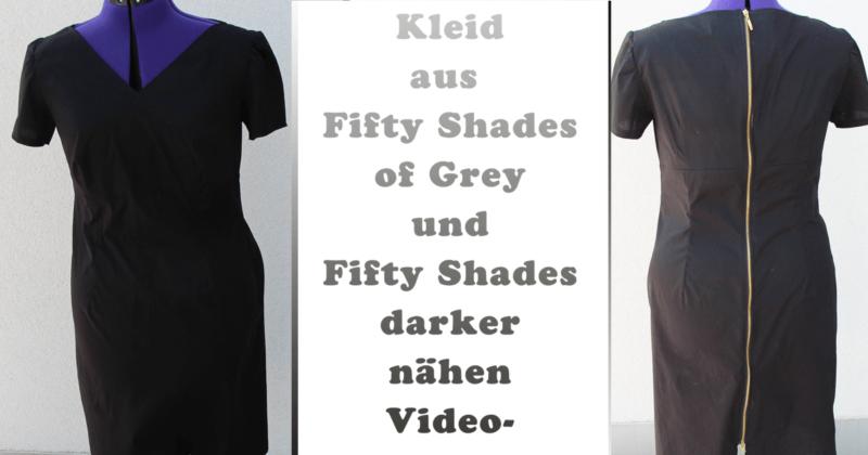 Kleid nähen, wie aus Fifty Shades of Grey und Fifty Shades Darker