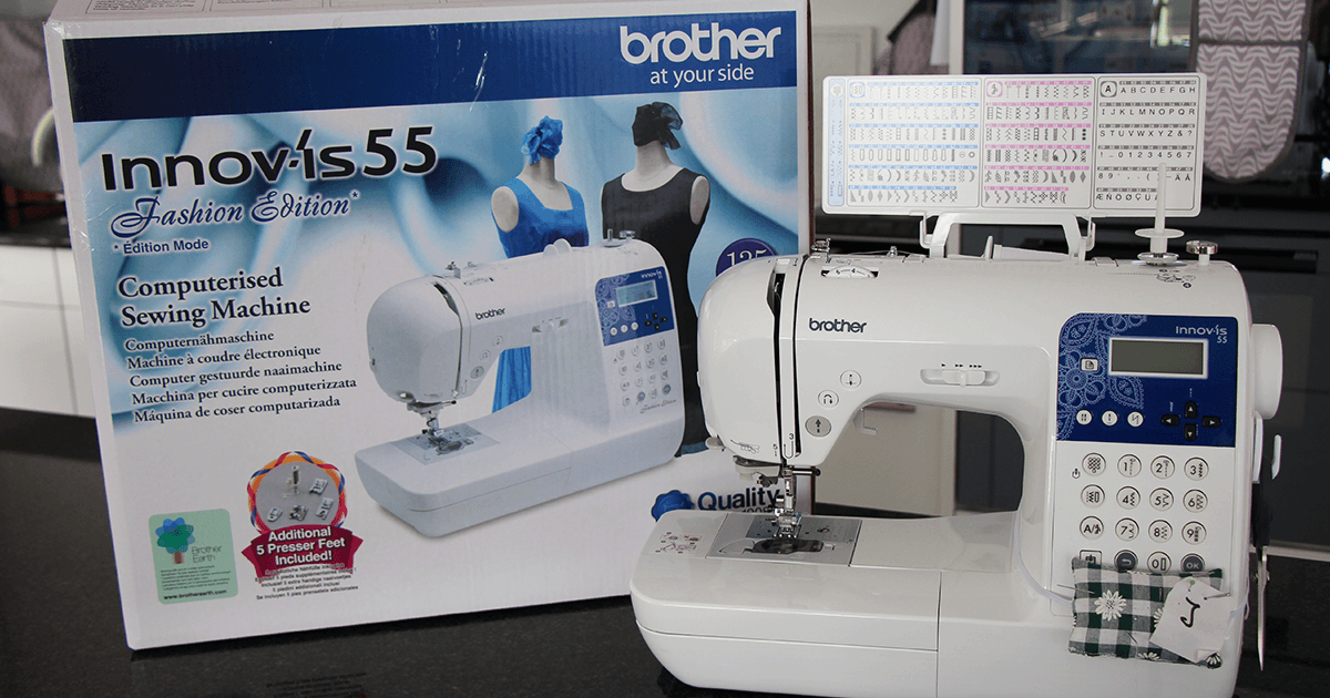 Nähmaschine Brother Innov is 55 Fashion Edition