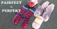 perfekt gleiche Socken stricken mit Regia Pairfect von Schachenmayr