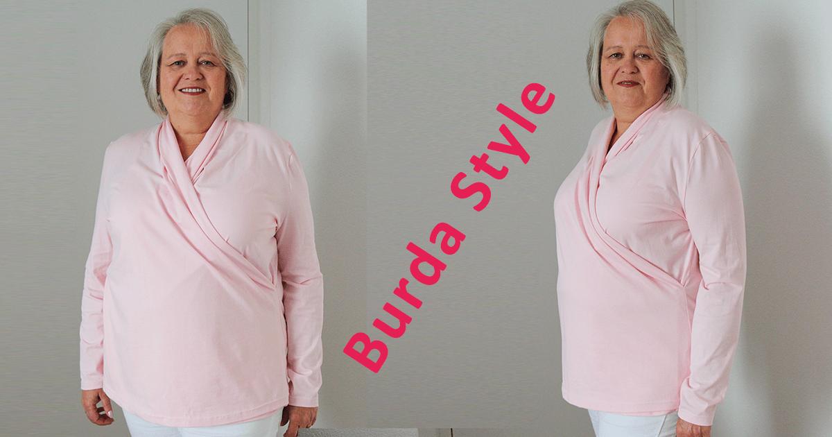 Wickelshirt nach Burda Style