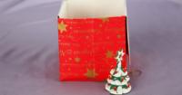 Papierutensilo basteln für Weihnachten