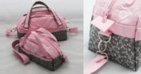 Handtasche nähen mit Schnittmuster - Handtasche Paris als Mini und Me