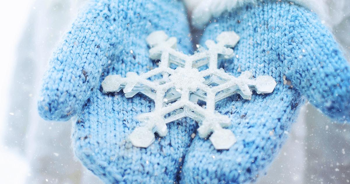 Puppensachen Schneeflocke