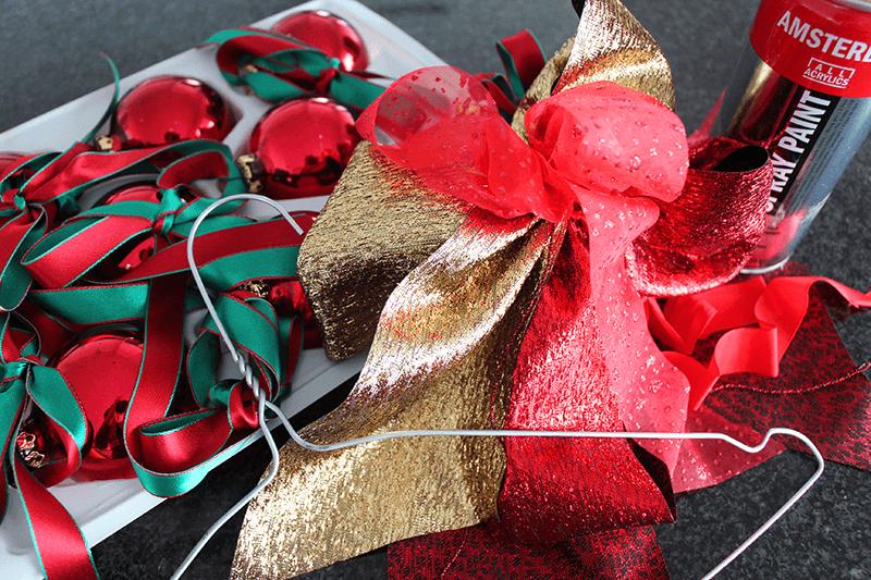 Türkranz für Weihnachten und Advent 1 Material