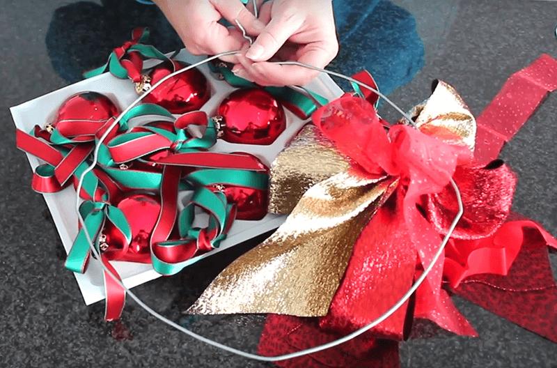 Türkranz für Weihnachten und Advent 3 Kleiderbügel