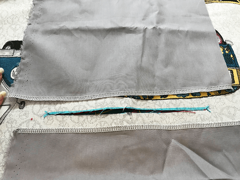 Tasche nähen mit Eingrifftasche - 04 Taschenbeutel annähen
