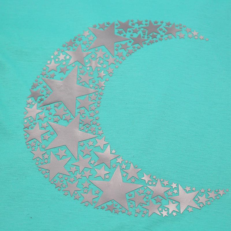 Mond aus Sternen Plotterdatei