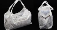 Tasche nähen - Tasche London mit Schnittmuster