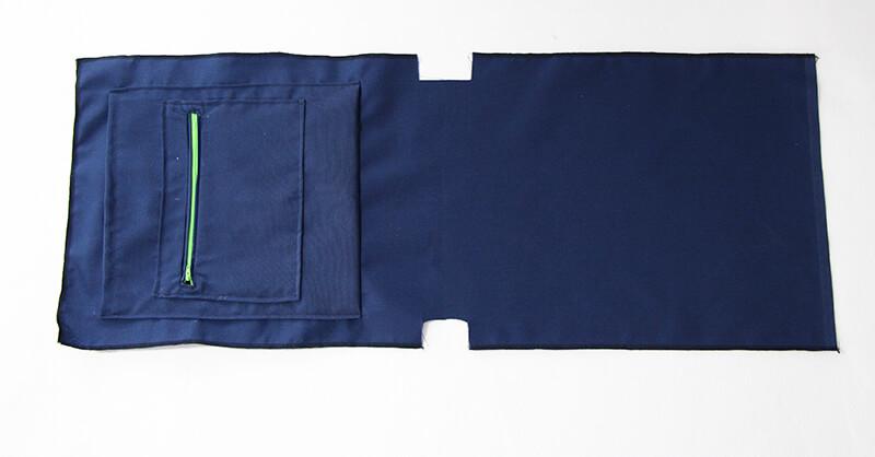 Tasche Hamburg - Vielseiteige Tasche nähen 03 Tasche aufsetzten