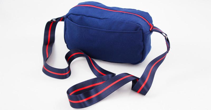 Tasche nähen - Citybag Boston mit Schnittmuster