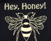 Plotterdatei Biene mit Sprüchen - Hey Honey nur Plott