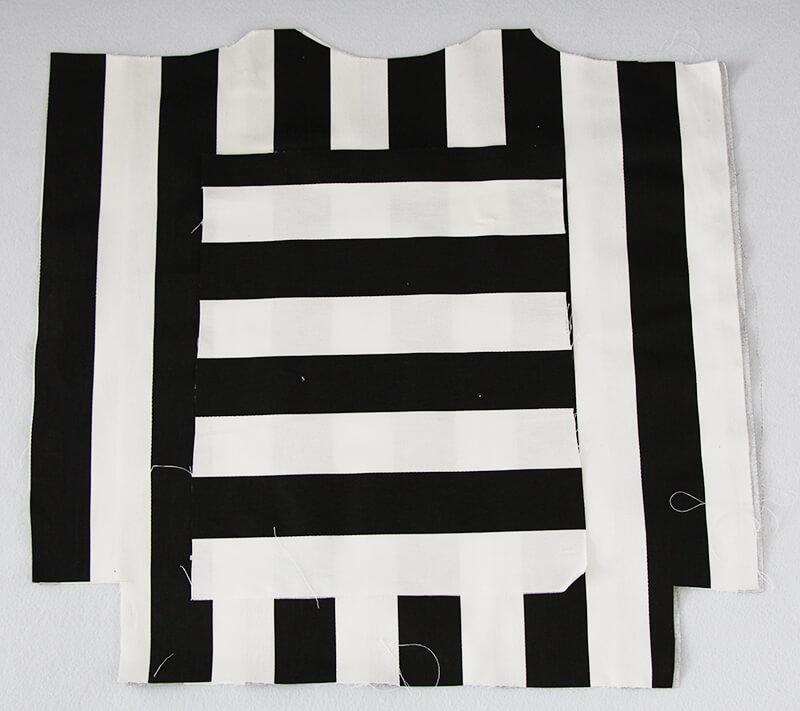 Tasche nähen mit Geheimfach und Hong Kong Finish - 01 Schnitt Teile
