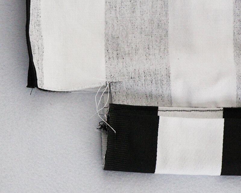 Tasche nähen mit Geheimfach und Hong Kong Finish - 13 Ecke