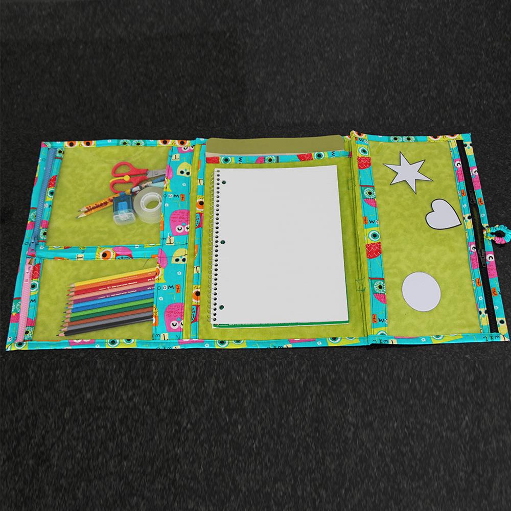 Kinder-Künstler-Mappe Schnittmuster