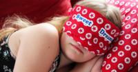 Schlafmaske nähen für den Urlaub