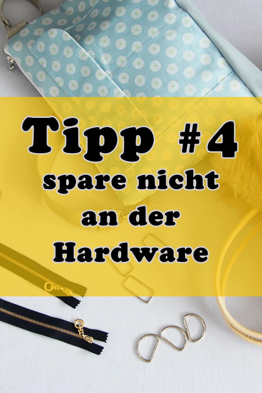 Tipp 4 spare nicht an der Hardware für den professionellen Look