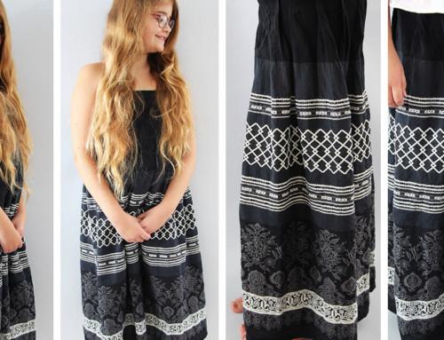Schnelles Kleid nähen für Anfänger ohne Schnittmuster